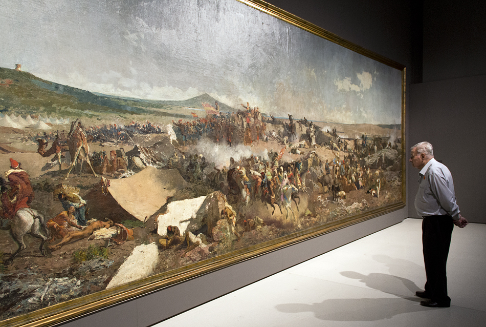 Barcelona, Marià Fortuny, Die Schlacht von Tetouan, Museu Nacional d'Art de Catalunya