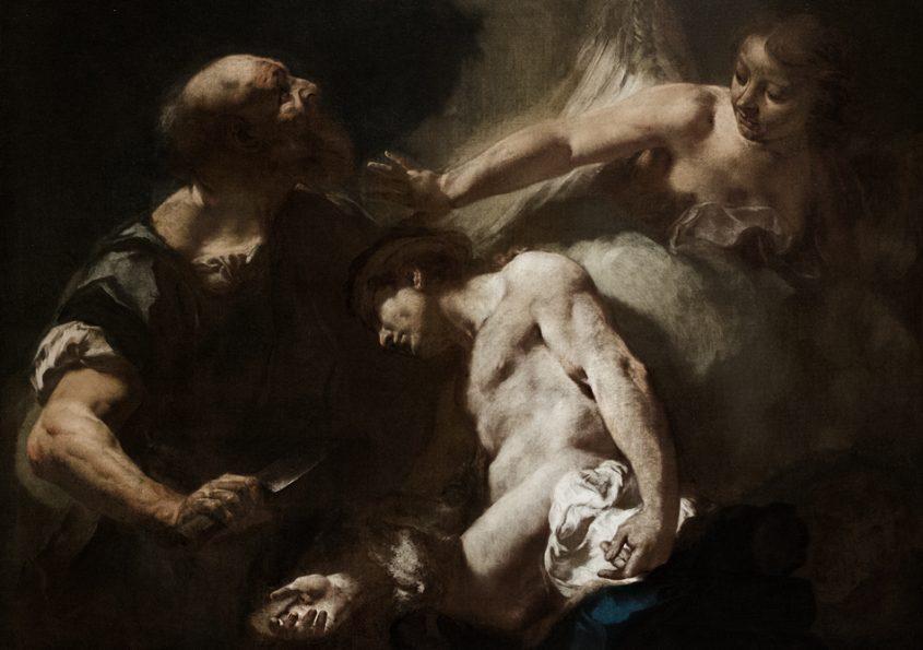 Barcelona, Giambattista Piazetta, Die Opferung Isaaks, Museu Nacional d'Art de Catalunya