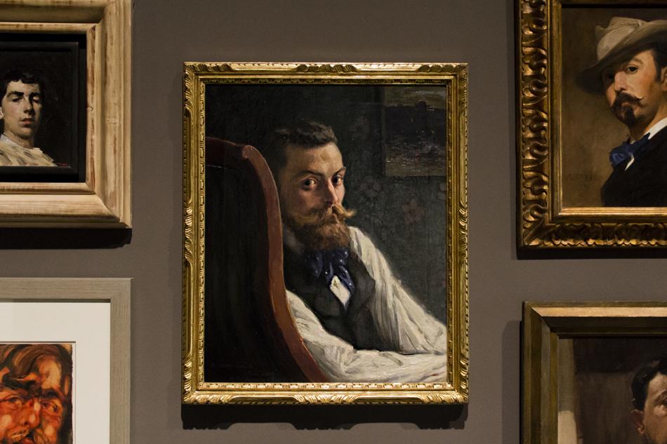 Barcelona, Marià Pidelaserra, Porträt Pere Ysern Museu Nacional d'Art de Catalunya