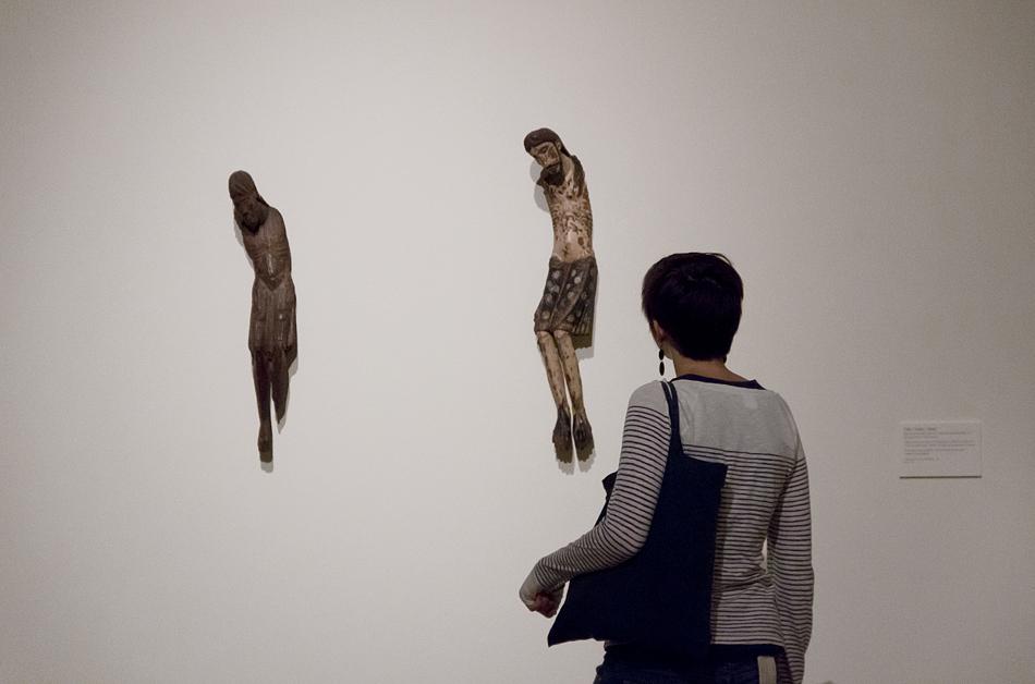 Barcelona, Kruzifix, Museu Nacional d'Art de Catalunya
