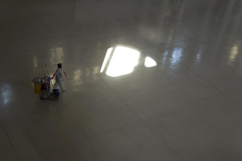 Barcelona, Sala Oval, Museu Nacional d'Art de Catalunya