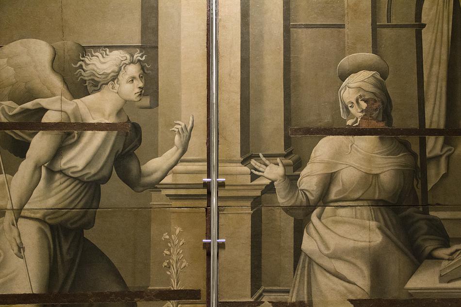 Barcelona, Museu Nacional d'Art de Catalunya, Verkündigung