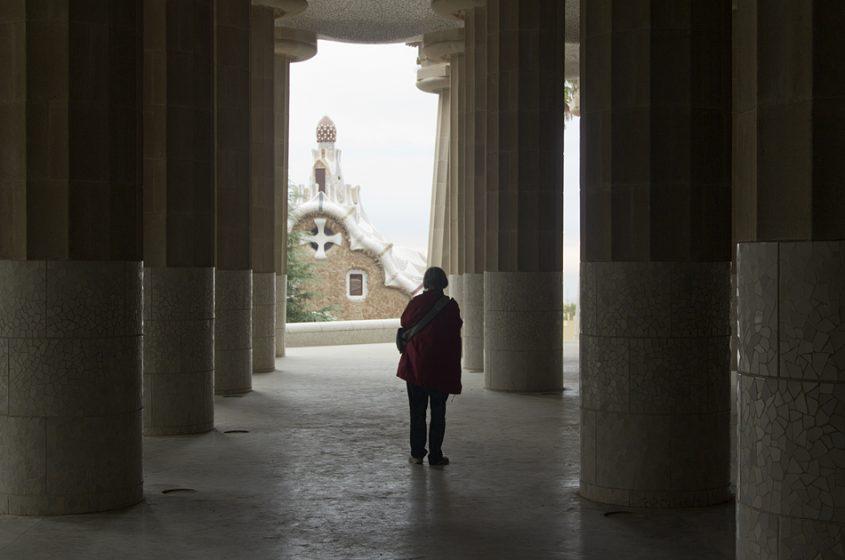 Barcelona, Park Güell, Säulenhalle
