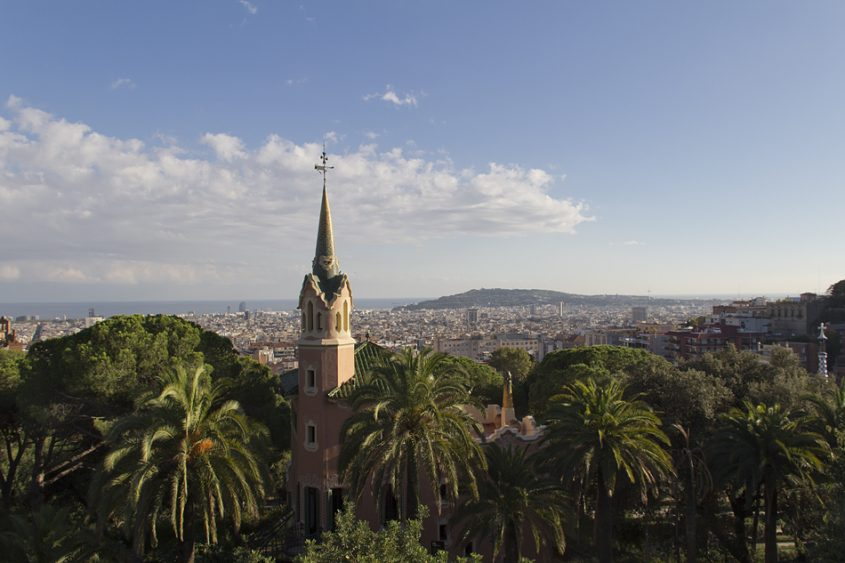 Barcelona, Park Güell, Casa-Museu Gaudí