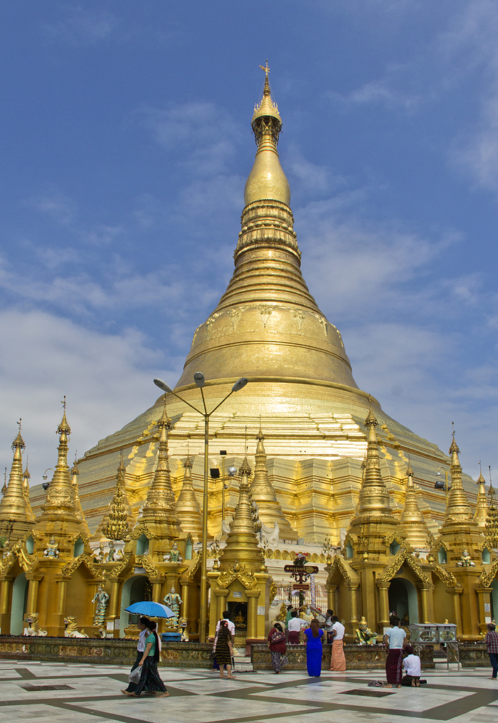 Yangon, Shwedagon Pagoda, Main Stupa