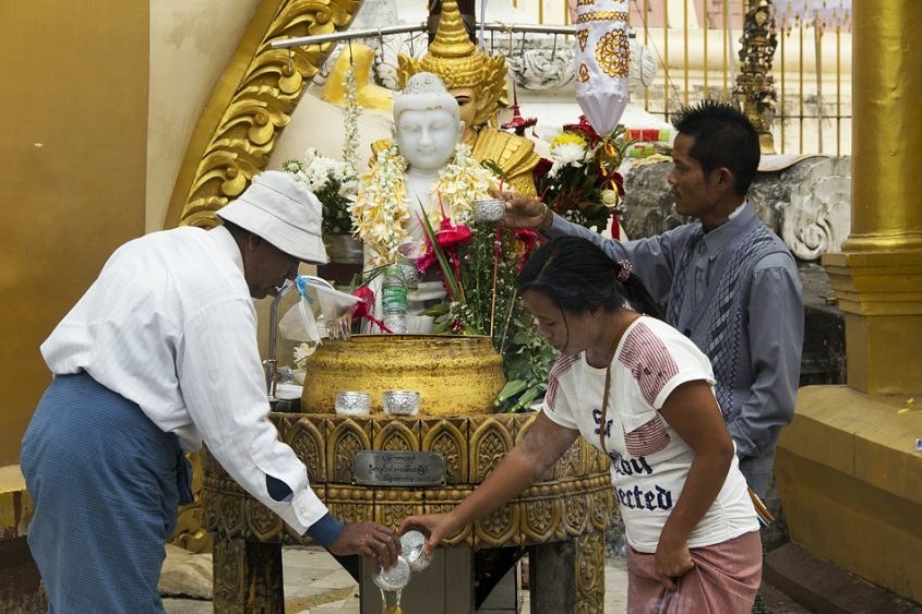Yangon, Shwedagon Pagoda,
