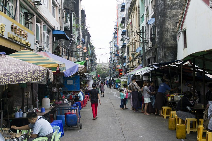 Yangon, 18th Street