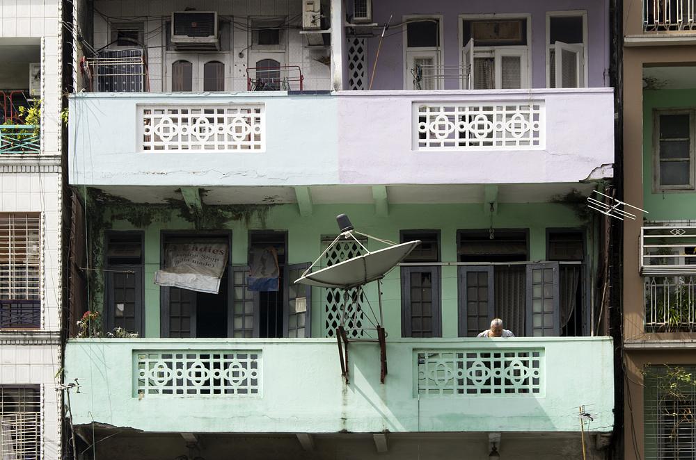 Yangon, Balkon