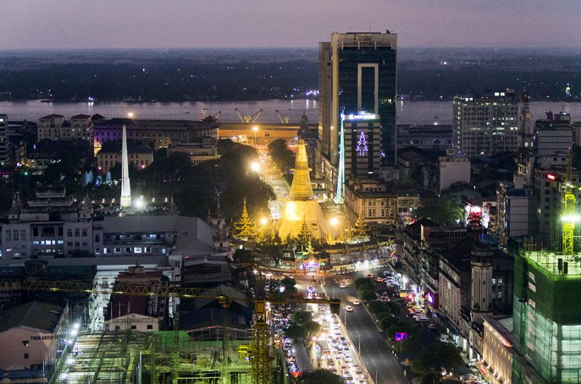 Yangon, Sule-Pagode