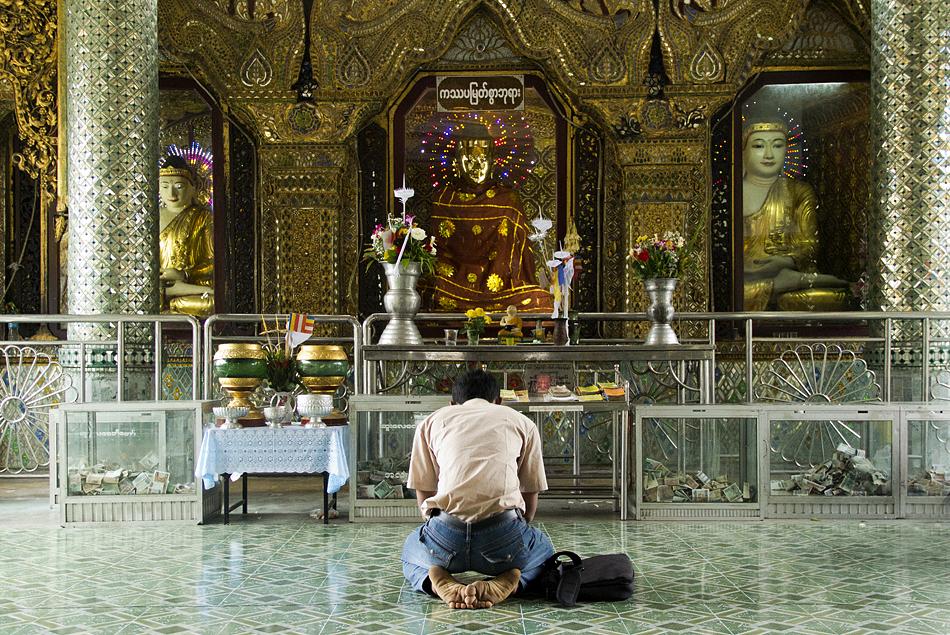 Yangon, Sule Pagoda,