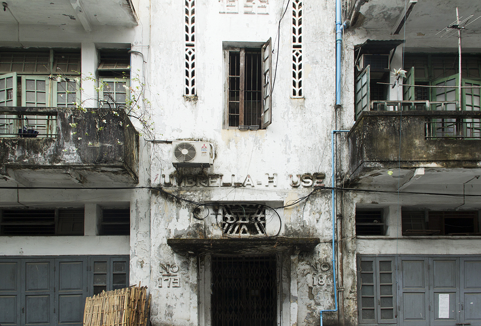 Yangon, 33th Street, Umbrella House