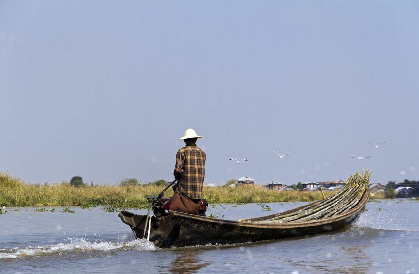 Myanmar, Inle-See, Boot
