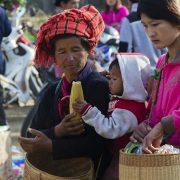 Myanmar, Inle-See, Markt in Kyauk Taung, Einheimische