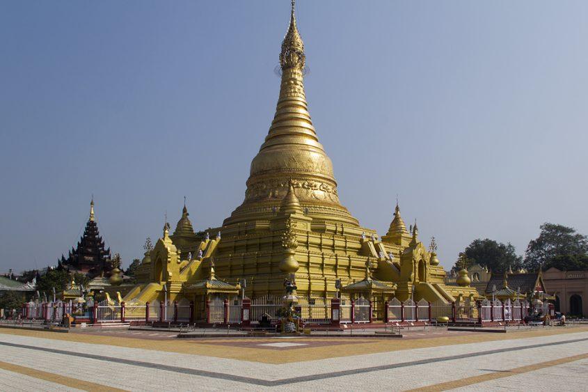 Mandalay, Eindawye-Pagode