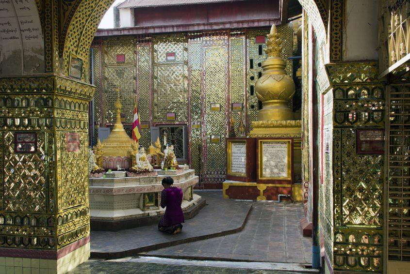 Mandalay, Two Snakes Pagoda