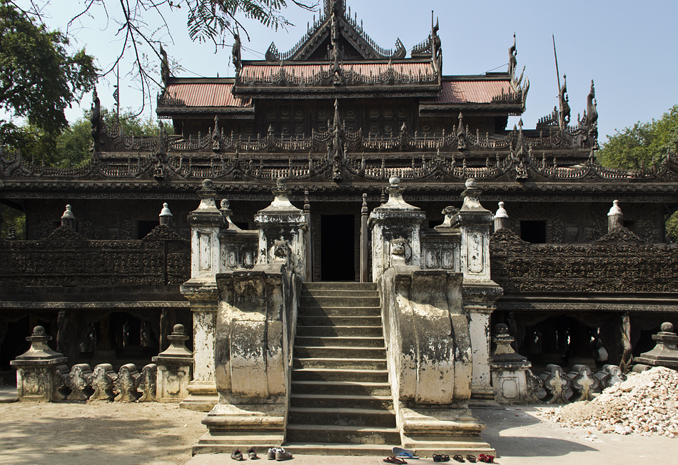 Mandalay, Shwenandaw-Kloster