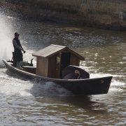Myanmar, Nyaung Shwe, Boot im Kanal
