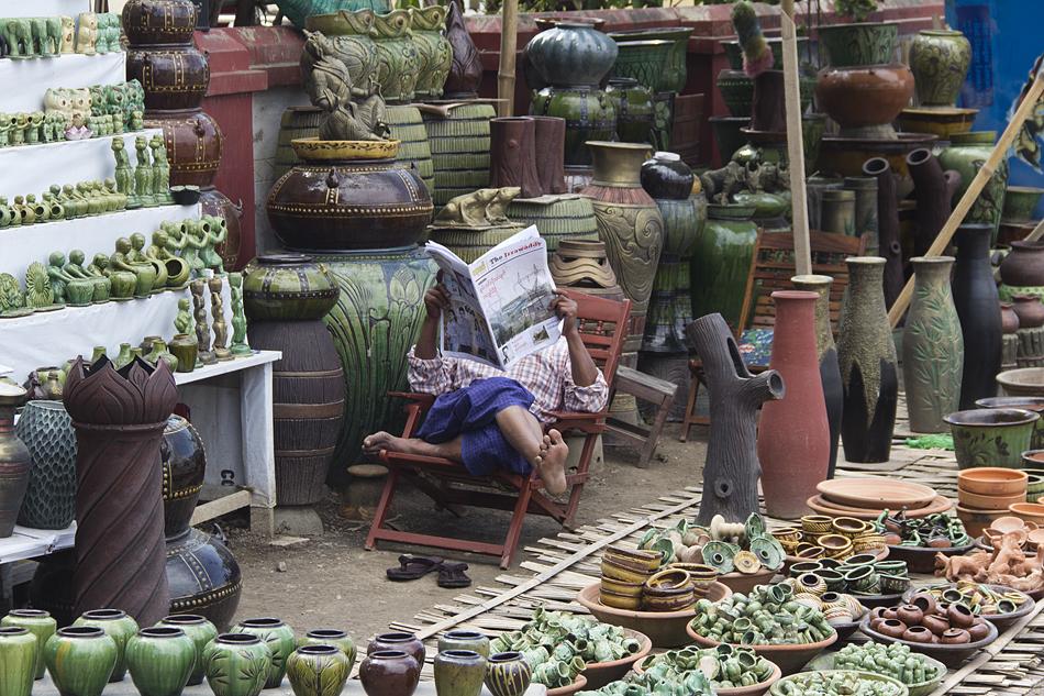 Myanmar, Nyaung Shwe, Markt