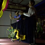 New Bagan, Hotel Yadanarbon, Puppet Play