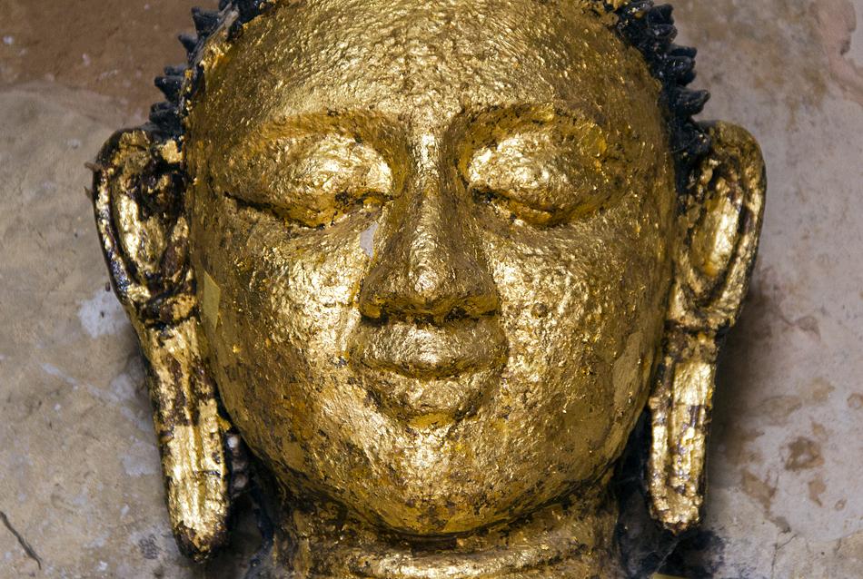 Buddha im Shwegugyi-Tempel