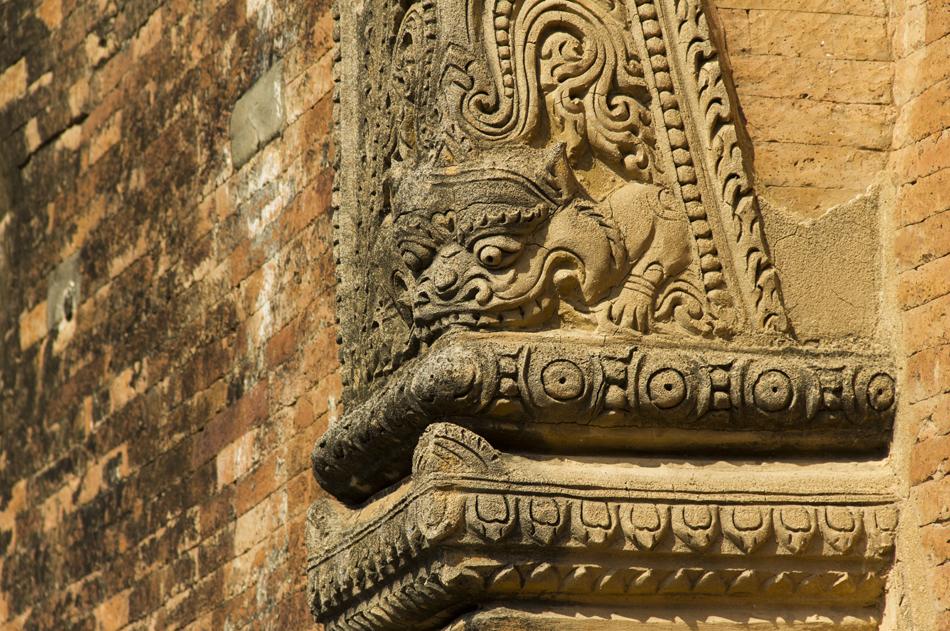 Bagan, Pilaster am Sulamani-Tempel