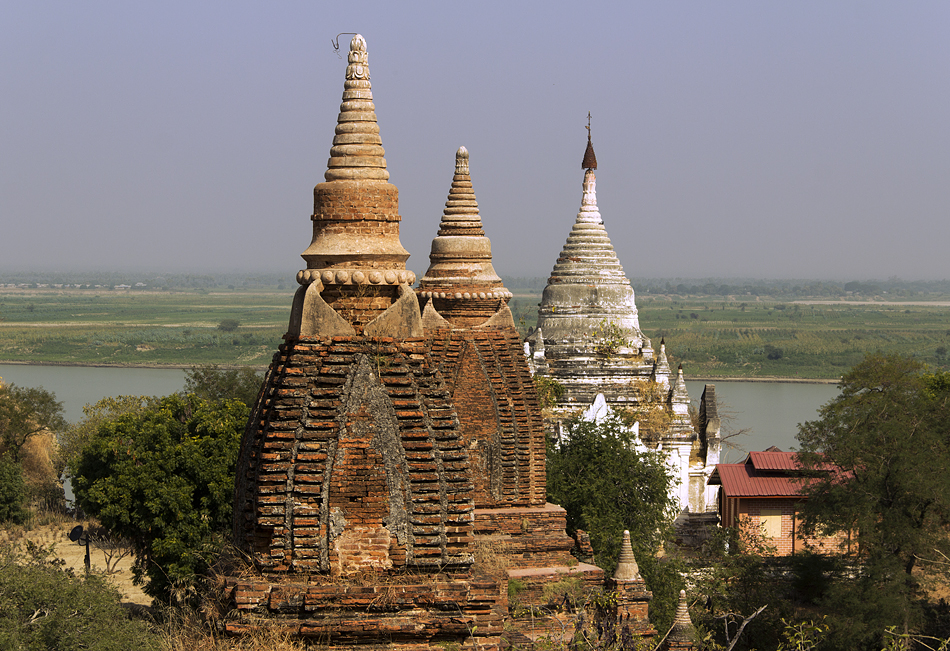 Bagam, Nyaung-U, Thetkyamuni und Shwe Tahabei Hpay