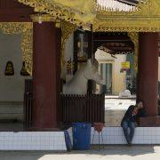 Bagan, Nyaung-U, Shwezigon-Pagode,
