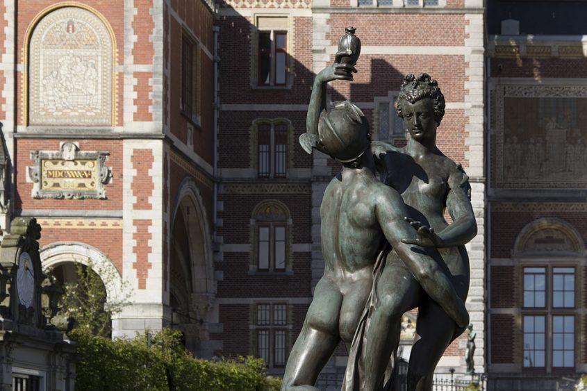 Amsterdam, Merkur und Psyche vor dem Rijksmuseum