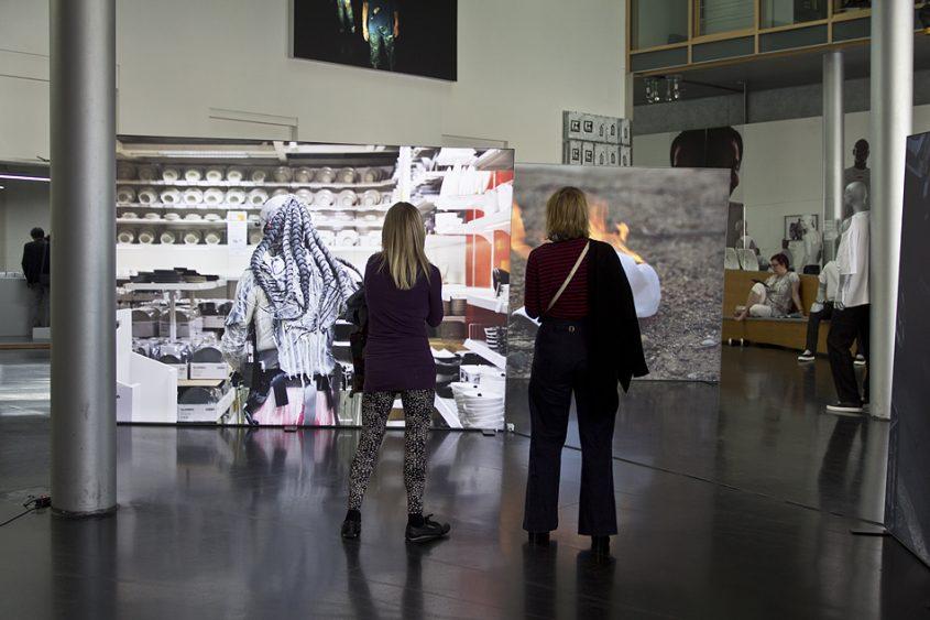 9. Berlin Biennale 2016, Akademie der Künste, Foyer,