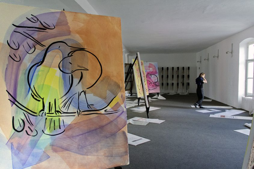 9. Berlin Biennale 2016, Camille Henrot, Office of Unreplied Emails / 11 Animals that Mate 4 Life