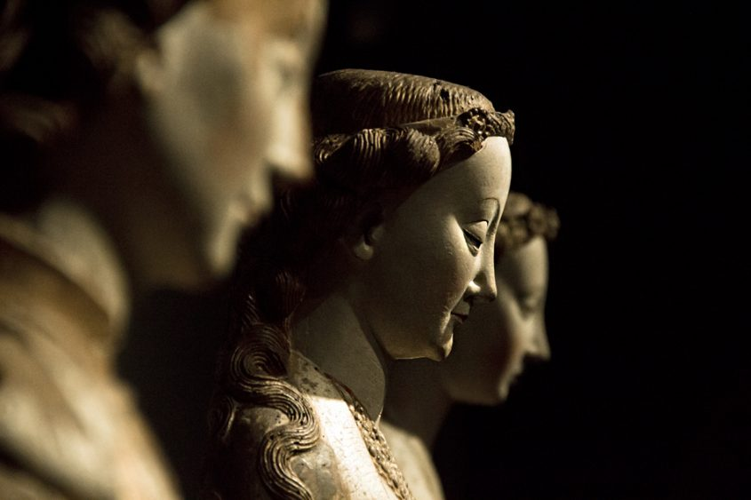 Amsterdam, Rijksmuseum, Meister der Statuen von Koudeweter, Hl Barbara
