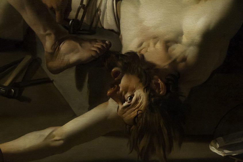 Amsterdam, Rijksmuseum, Dirck van Baburen, Prometheus von Vulkan angekettet
