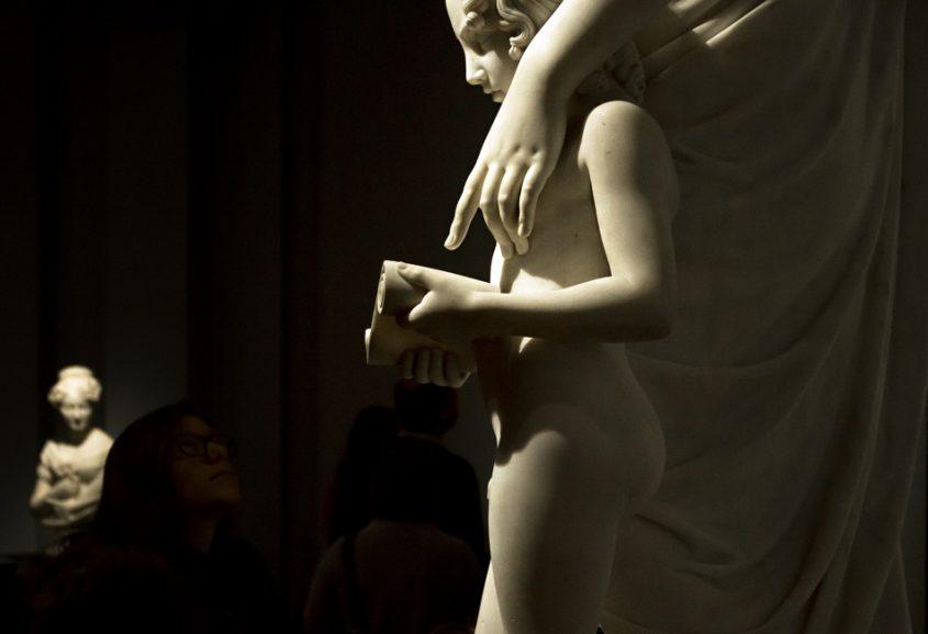 Amsterdam, Rijksmuseum, Lorenzo Bartolini, Caritas als Erzieherin