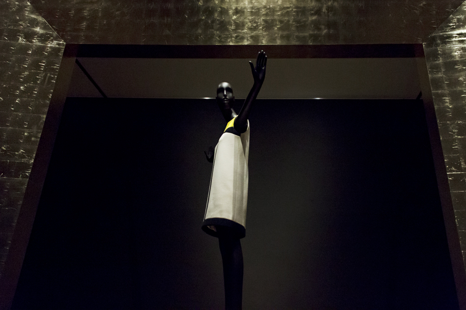 Amsterdam, Rijksmuseum, Catwalk, Yves Saint Laurent, Mondrian Dress