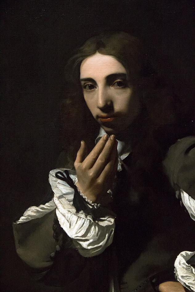 Amsterdam, Rijksmuseum, Michael Sweerts, Portrait Joseph Deutz