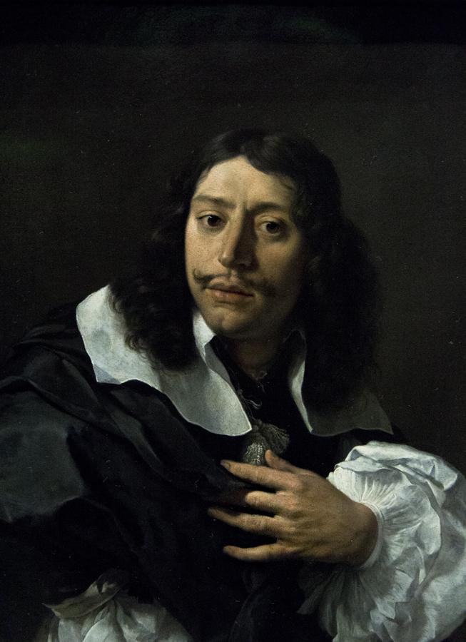 Amsterdam, Rijksmuseum, Karel Dujardin, Selbstportrai