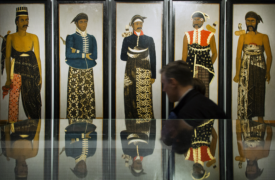 Amsterdam, Rijksmuseum, Court officials from Java