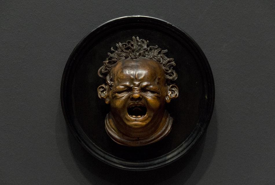 Amsterdam, Rijksmuseum, Hendrick de Keyser, Schreiendes Kind, von Biene gestochen