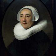 Amsterdam, Rijksmuseum, Rembrandt, Portraot Haesje Jacobsdr van Cleyburg