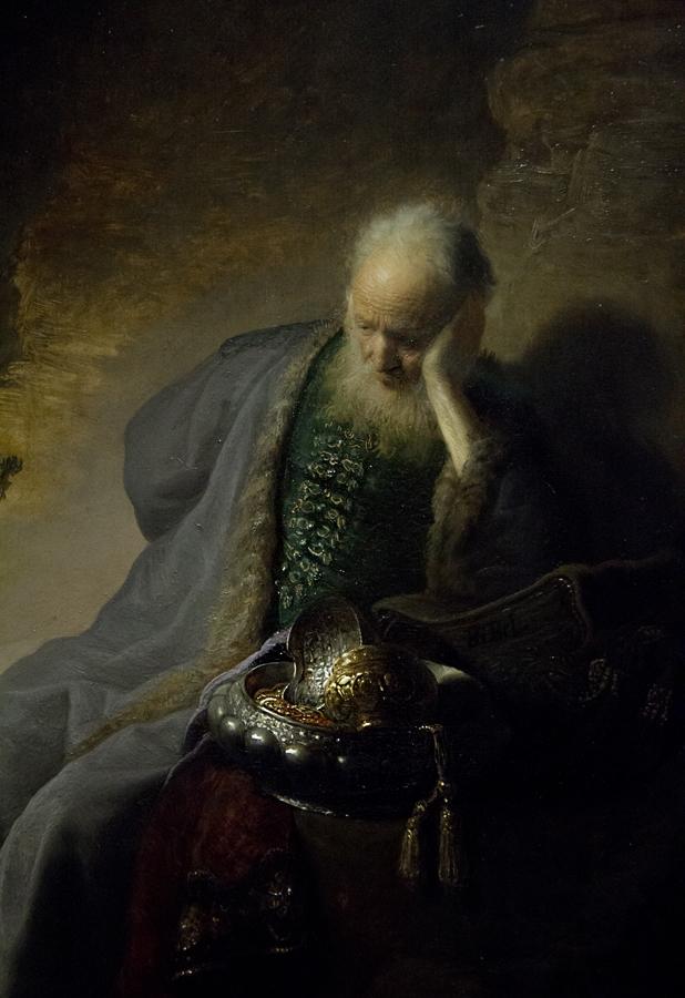 Amsterdam, Rijksmuseum, Rembrandt, Jeremia beklagt die Zerstörung Jerusalems