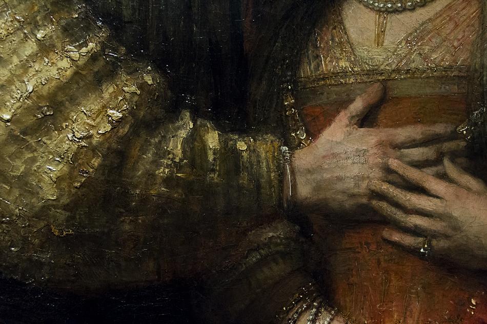 Amsterdam, Rijksmuseum, Rembrandt, Die jüdische Braut