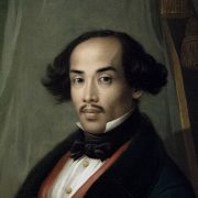 Amsterdam, Rijksmuseum, Friedrich Carl Albert Schreuel, Portrait Raden Syarif Bustaman Saleh