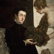 Amsterdam, Rijksmuseum, Tintoretto, Portrait Ottavio Strada