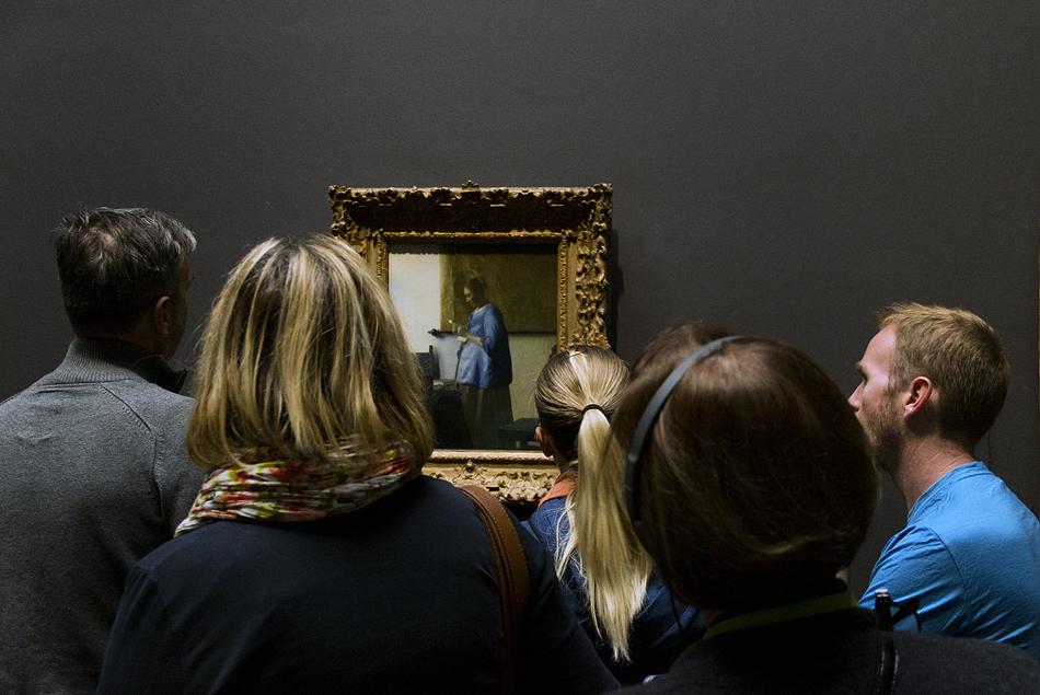 Amsterdam, Rijksmuseum, Vermeer, Woman reading letter