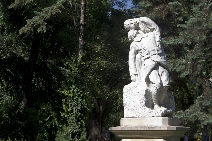 Bukarest, Gradina Cişmigiu, Skulptur