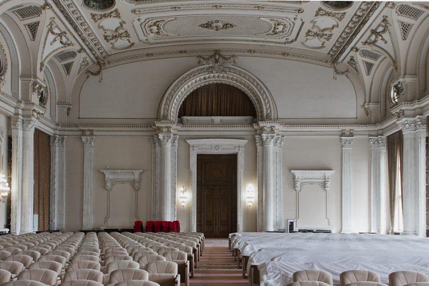 """București, Palatul Parlamentului, Interior, Sala """"AL. I. CUZA"""" (Floor P)"""