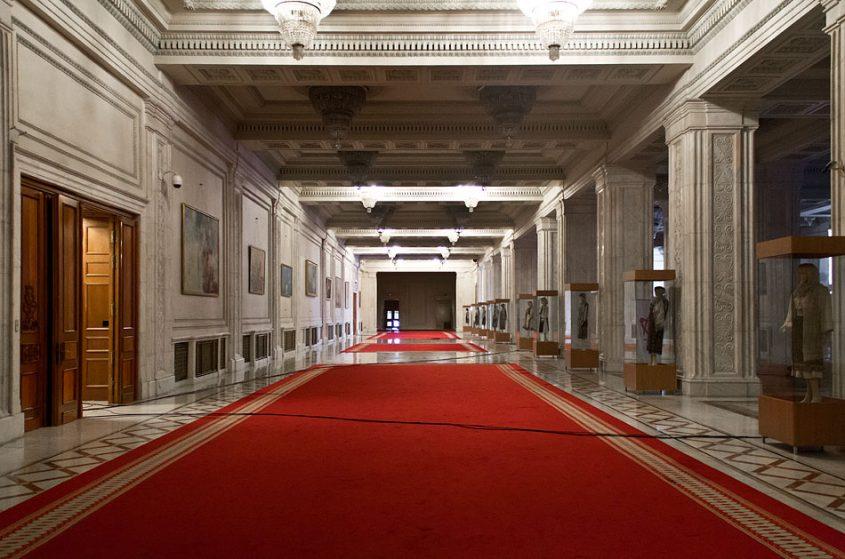 București, Palatul Parlamentului, Interior,
