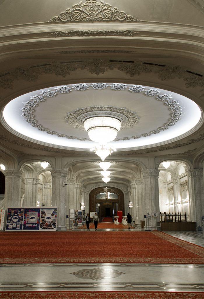 București, Palatul Parlamentului, Interior, Foyer