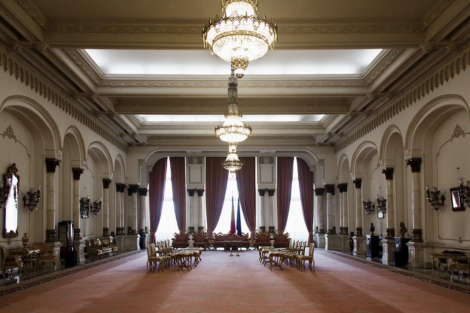București, Palatul Parlamentului, Interior, Reception Hall