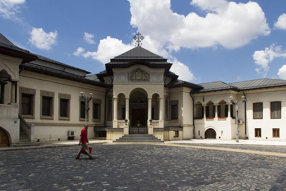 Bukarest, Hügel der Metropolie, Residenz des Patriarchen
